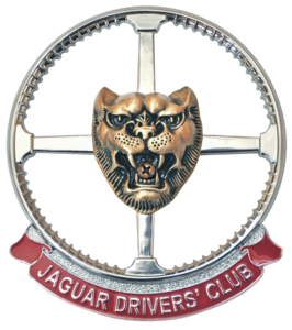 Jaguar Drivers' Club Badge - Area 17 Bedfordshire